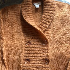 Talbot Butterscotch Angora Sweater